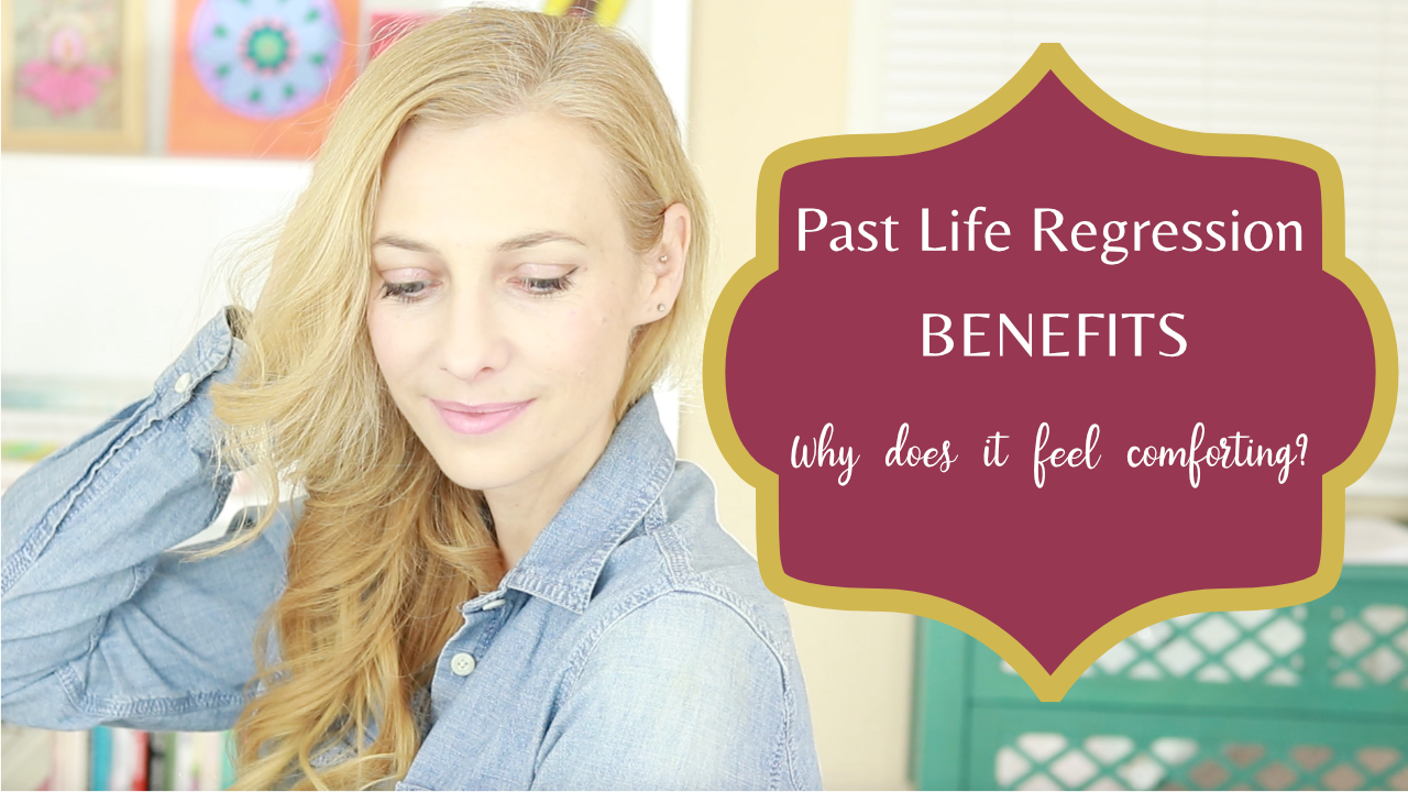 past life regression, why does it feel comforting